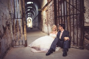 Trash the Dress - Eastern State Penitentiary